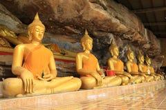 Tempel av thailändskt. Arkivbilder