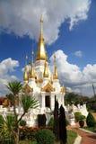 Tempel av thailändskt. Royaltyfri Bild