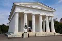 Tempel av Theseus i Volksgarten arkivfoto