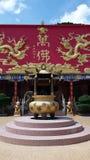 Tempel av tio tusen Buddha Royaltyfria Foton