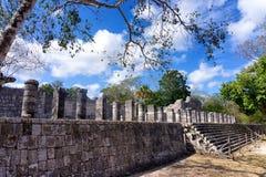 Tempel av tusen krigare Arkivbilder