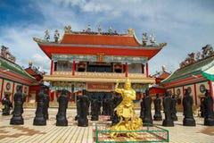 Tempel av Xian Fotografering för Bildbyråer