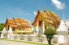 Tempel in Ayutthaya stockbilder