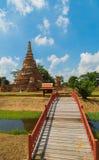 Tempel in Ayutthaya royalty-vrije stock afbeeldingen