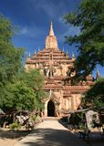 Tempel in Bagan stock fotografie