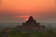Tempel in Bagan Stockbilder