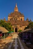 Tempel Bagan i Myanmar (Burmar) Royaltyfri Foto
