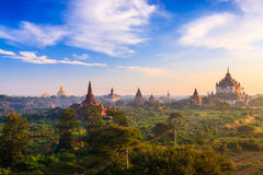Tempel in Bagan, Myanmar Stockbild