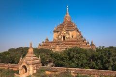 Tempel in Bagan, Myanmar Stock Foto