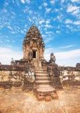 Tempel Bakong Prasat in Angkor Wat stockbild