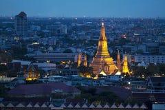 Tempel in Bangkok Royalty-vrije Stock Fotografie