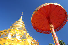Tempel in Bangkok Royalty-vrije Stock Foto's