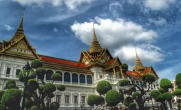 Tempel in Bangkok, Thailand Lizenzfreies Stockfoto