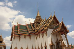 Tempel in Bangkok, Thailand Stock Foto's