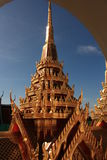 Tempel in Bangkok, Thailand Royalty-vrije Stock Foto's
