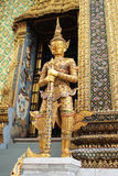 Tempel Bangkoks Thailand Emerald Buddhas Lizenzfreies Stockbild