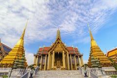 Tempel Bangkoks Thailand Wat Phra Kaew stockfotografie