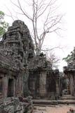 Tempel Banteay Kedi in Angkor Stockbilder
