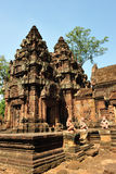 Tempel Banteay Srei in Angkor wat Royalty Free Stock Images