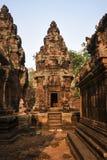 Tempel Banteay Srei, Angkor Wat Cambodia Lizenzfreie Stockbilder
