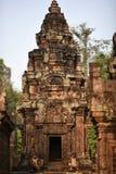 Tempel Banteay Srei, Angkor Wat Cambodia Stockfotos