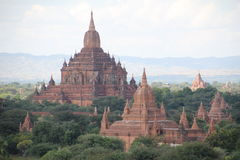 Tempel bei Bagan | Myanmar Stockbilder