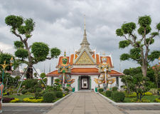 Tempel bei Wat Arun, Bangkok Lizenzfreie Stockfotos