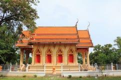 Tempel bei Wat Khok Klang Stockbild