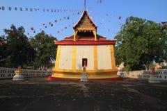 Tempel bei Wat Rat Banthom Stockfoto