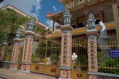 Tempel beim Can Tho - dem Vietnam Stockfoto