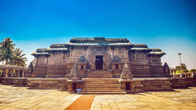 Tempel Belur Chennakeshava Stockfoto
