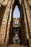 Tempel bij het Historische Park van Sukhothai, Thailand Stock Foto