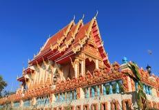 Tempel bij wihan sri Charoen van Wat Royalty-vrije Stock Foto's