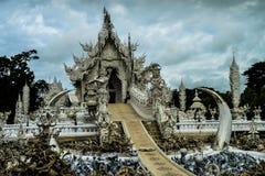 Tempel blanco Foto de archivo libre de regalías