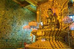 Tempel BO Ta Tuang Paya, Myanmar Stockfotos