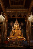 Tempel-Buddha-Statue Thailand Stockfotos
