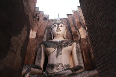 Tempel-Buddha-Statue Thailand Stockbild