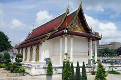 Tempel-Buddhismus-Buddha-Reise-Religion Stadt Ayutthaya Thailand lizenzfreie stockfotos