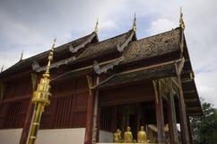 Tempel, buddhistischer Tempel in Chiang Mai Thailandâ-€Ž stockbild