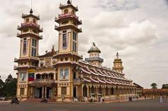 Tempel Cao-Dai Stockbild