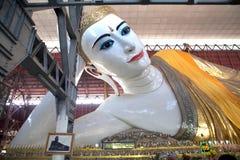 Tempel Chaukhtatgyi Bubbha, Rangun, Myanmar Stockfoto