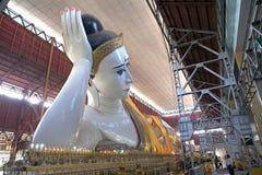 Tempel Chaukhtatgyi Bubbha, Rangun, Myanmar Lizenzfreie Stockfotografie