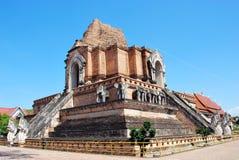 Tempel Chedi Luang Stock Afbeelding