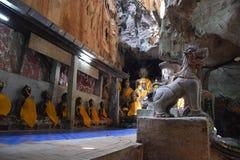 Tempel Chiang Dao Thailand lizenzfreie stockbilder