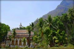 Tempel Chiang Dao Thailand stockfotografie