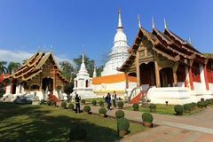 Tempel in Chiang Mai Stockbild