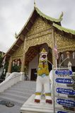 Tempel in Chiang Mai Thailandâ-€Ž stockfoto