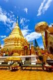 Tempel in Chiang Mai, Thailand. stockbilder