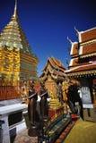 Tempel in chiangmai Stock Foto's