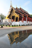Tempel in Chiangmai Thailand Lizenzfreies Stockfoto